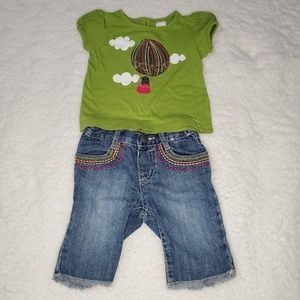 Gymboree Baby Girl Outfit 12-18mo